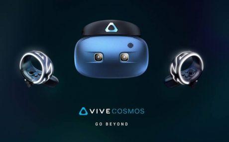 HTCが新しいVRヘッドセット「VIVE COSMOS」を発表、ハイエンドは視線連動の「VIVE Pro Eye」へ
