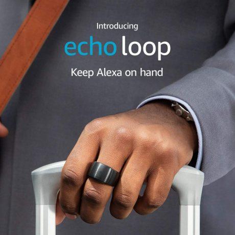 ウェアラブル型Alexaが米国限定で登場、指輪型「echo loop」やメガネ型「echo flame」
