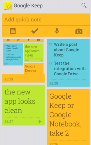 google-keep-mobile